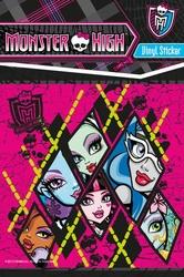 Monster High - Lalki - naklejka