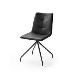 Ali iii krzesło z oparciem ekoskóra kpl.