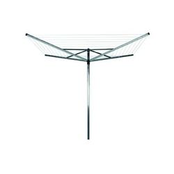 Brabantia - suszarka ogrodowa lift-o-matic 60m, 4 ramiona, pokrowiec - mocowanie stalowe do gruntu