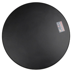 Kokoon design - blat stołowy, okrągły, czarny - czarny