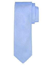 Błękitny jedwabny krawat profuomo
