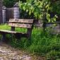 Fototapeta ławka w parku fp 2192