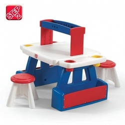 Step2 centrum aktywności do prac plastycznych stolik