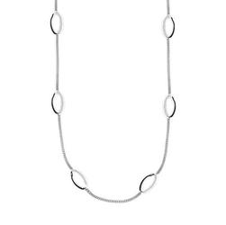 Staviori naszyjnik srebrny ozdobne elementy 47cm. srebro 0,925.