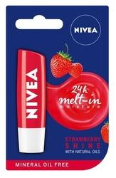 Nivea strawberry, pomadka ochronna