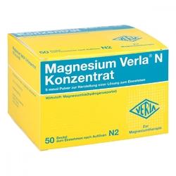 Magnesium verla n granulat w saszetkach