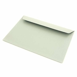 Koperta C6 perłowa srebrna 120g - cardmaking - srebrna