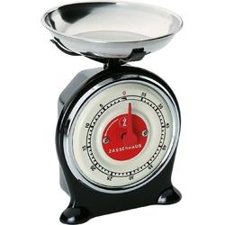 Minutnik kuchenny retro o kształcie wagi scale zassenhaus czarny zs-071764