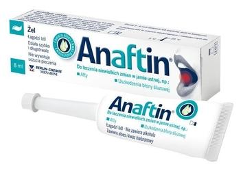 Anaftin żel na afty 8ml