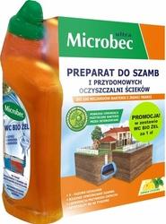 Bros Microbec 1kg preparat do szamb cytryna + WC bio żel 50ml