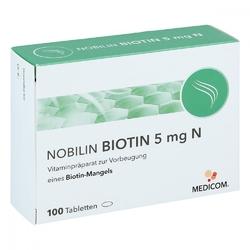 Nobilin biotin 5 mg n tabletki