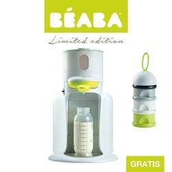Zestaw ekspres do mleka w proszku  bibexpresso z neonowym pojemnikiem