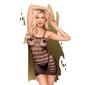 Frywolna mini sukienka penthouse s-l | 100 dyskrecji | bezpieczne zakupy