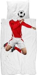 Pościel soccer champ 135 x 200 cm czerwony