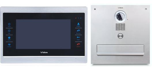 Skrzynka na listy Vidos z monitorem M901-S S551-SKM - Szybka dostawa lub możliwość odbioru w 39 miastach