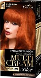 Joanna multi cream color, farba do włosów, 43 płomienny rudy