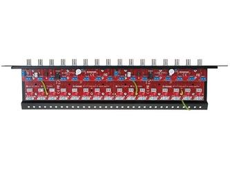 16-kanałowy, separowany konwerter utp do ahd, hd-cvi, hd-tvi z zabezpieczeniem przeciwprzepięciowym i dystrybucją zasilania ewimar lhst-16r-ext-fps - szybka dostawa lub możliwość odbioru w 39 miastach