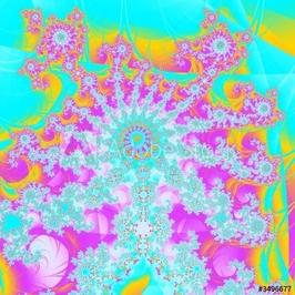 Obraz na płótnie canvas czteroczęściowy tetraptyk szczęśliwy hipis