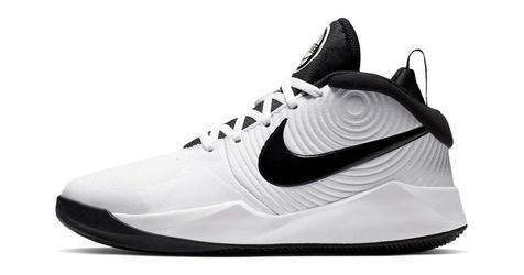 Nike team hustle 9 aq4224-100 38.5 biały