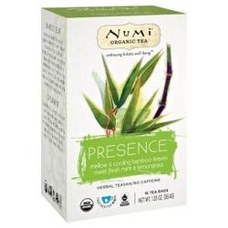 Herbatka bambusowa z miętą i trawą cytrynową numi tea, 16 torebek