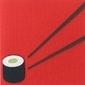 Skórzano-papierowa kartka sushi