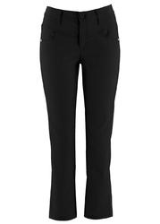 Spodnie  z bengaliny 78 bonprix czarny