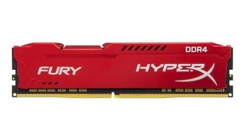 HyperX DDR4 Fury Red 8GB2666 CL16