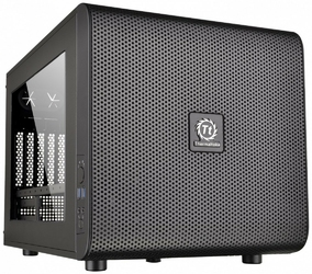 Thermaltake Core V21USB 3.0 Window 200mm, czarna