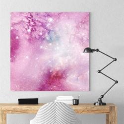 Modny obraz na płótnie - ultra space , wymiary - 80cm x 80cm