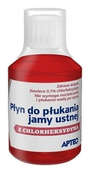 Apteo care płyn do płukania jamy ustnej 200ml
