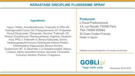 Kerastase discipline fluidissime termoochronny fluid wygładzający 150ml