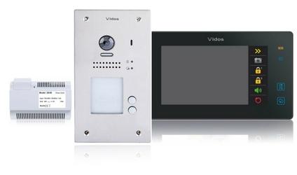 Wideodomofon 2-rodzinny vidos duo 2 x m1021b  s1202a - szybka dostawa lub możliwość odbioru w 39 miastach