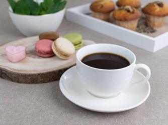 Filiżanka do kawy  herbaty porcelana karolina spring 400 ml + 16 cm