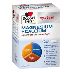 Doppelherz magnez wapń miedź mangan system tabletki