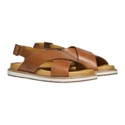 Sandały damskie keen lana cross strap sandal - brązowy