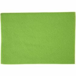 Dekoracyjny filc A4 - zielony jasny - ZIELJAS