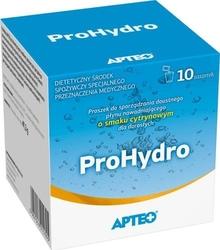 Apteo prohydro o smaku cytrynowym x 10 saszetek
