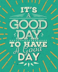 Good day - plakat