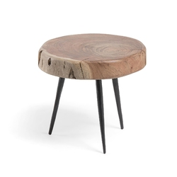 Drewniany stolik mondea 33x32 cm