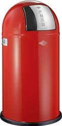 Kosz na śmieci PushBoy 50l czerwony