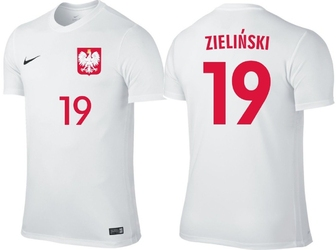 Koszulka nike piotr zieliński 19 reprezentacja polski - zieliński