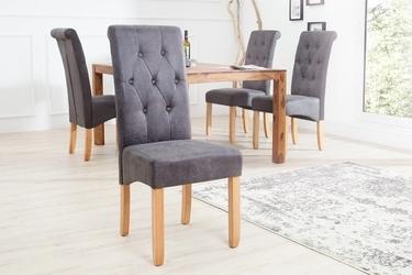 Krzesło chest szare