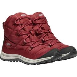Buty damskie keen terradora ankle wp - czerwony