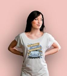 Mały przebieg, nie bita t-shirt damski biały xxl