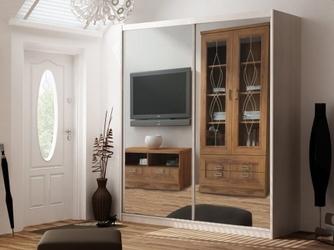 Szafa maciej przesuwna z lustrami 2 drzwiowa 208 cm