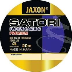 Żyłka fluorokarbonowa uniwersalna JAXON SATORI Fluorocarbon Premium 0,16mm 20m