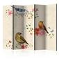 Parawan 5-częściowy - ptasi śpiew ii room dividers