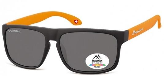 Klasyczne okulary montana mp37d pomarancz polaryzacyjne