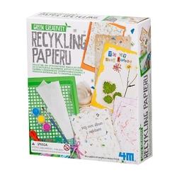 Zestaw kreatywny - papier czerpany