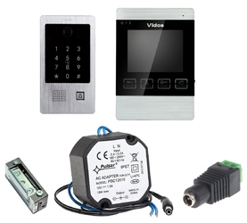 Wideodomofon VIDOS M904S20DA, zaczep+zasilacz - Szybka dostawa lub możliwość odbioru w 39 miastach
